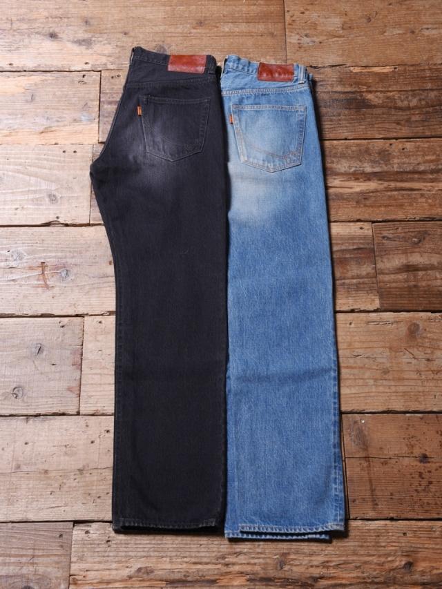 CALEE  「USED TAPERED SLIM DENIM PANTS」 USED加工 テーパードスリムデニムパンツ