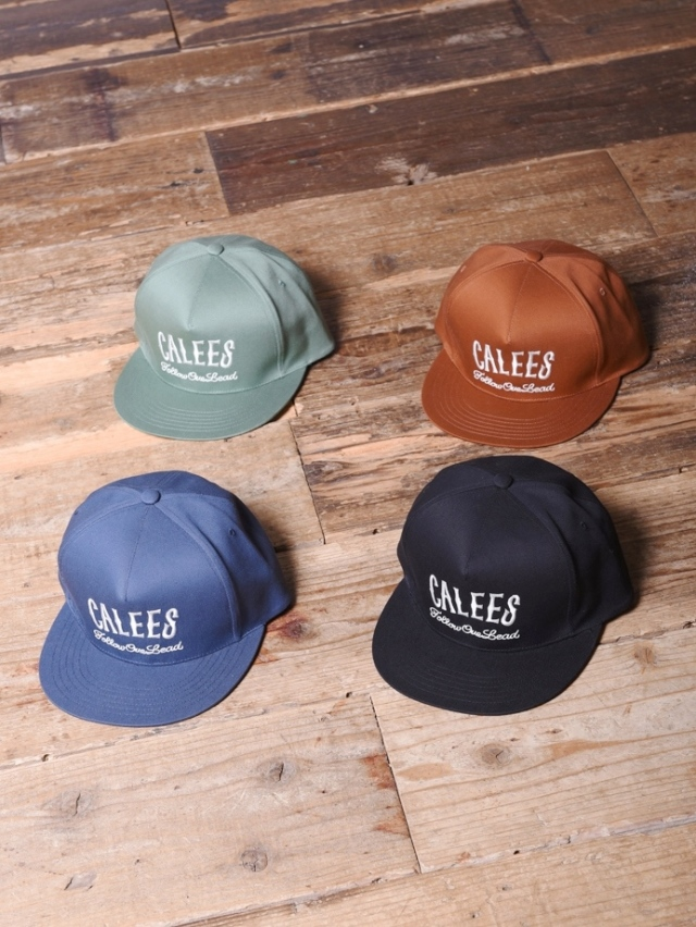 CALEE  「TWILL EMBROIDERY CAP」  ツイルキャップ