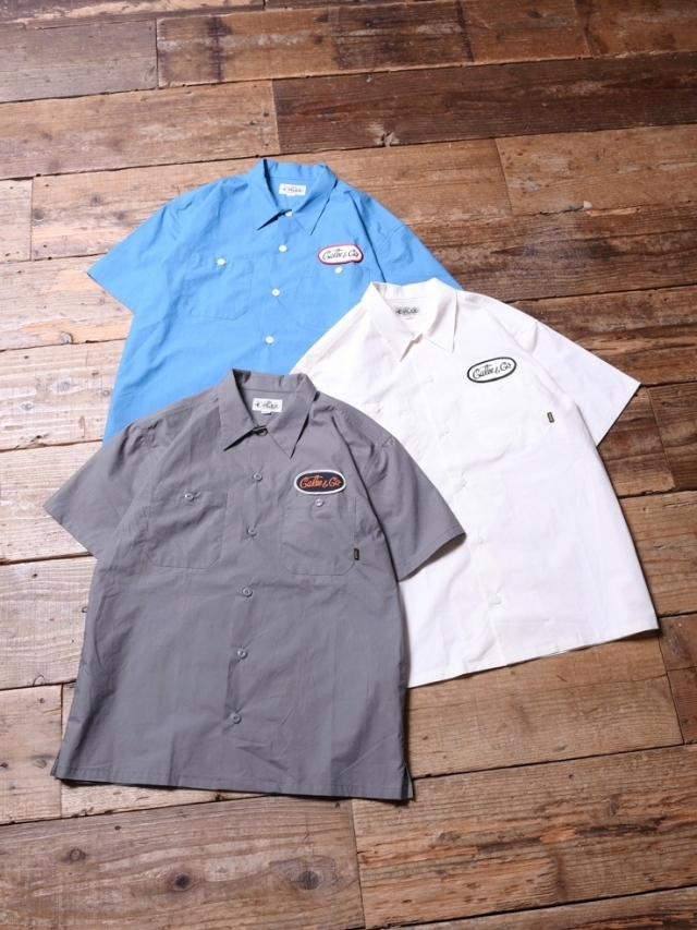 CALEE  「 S/S WORK SHIRT 」    ワークシャツ