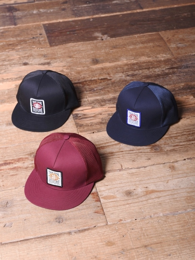 CALEE  「 WAPPEN MESH CAP 」  ワッペンメッシュキャップ