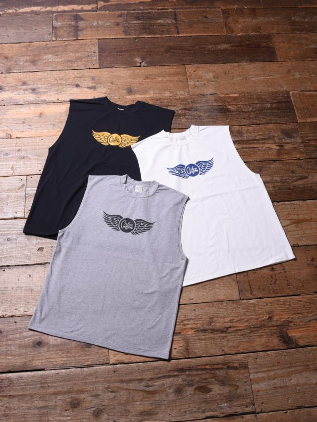 CALEE  「WING NO SLEEVE T-SHIRT 」 ノースリーブティーシャツ