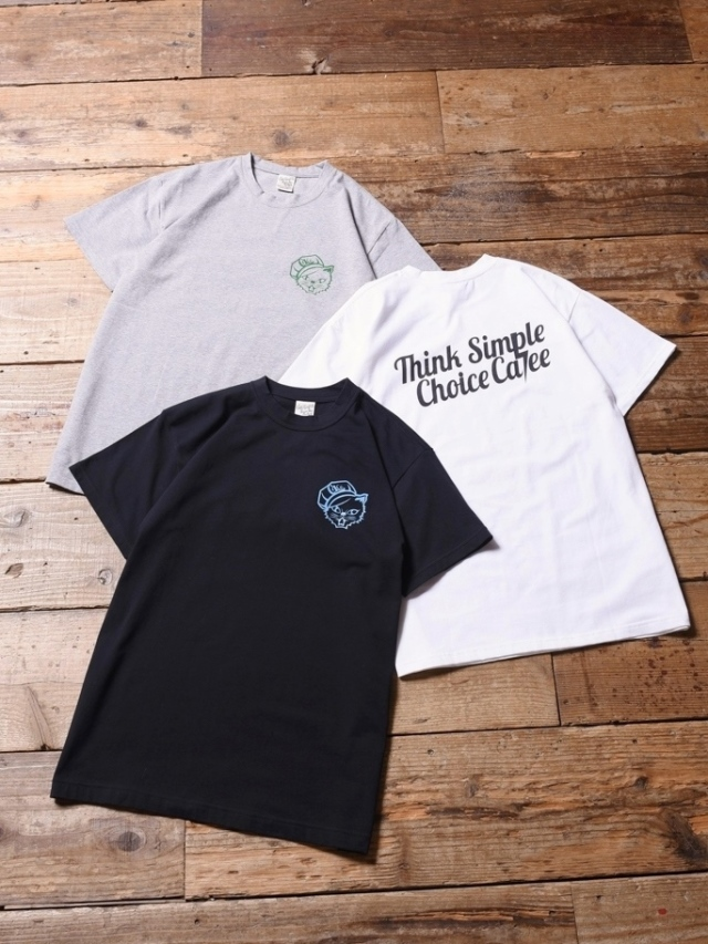 CALEE  「THINK SIMPLE CALEE T-SHIRT 」 プリントティーシャツ