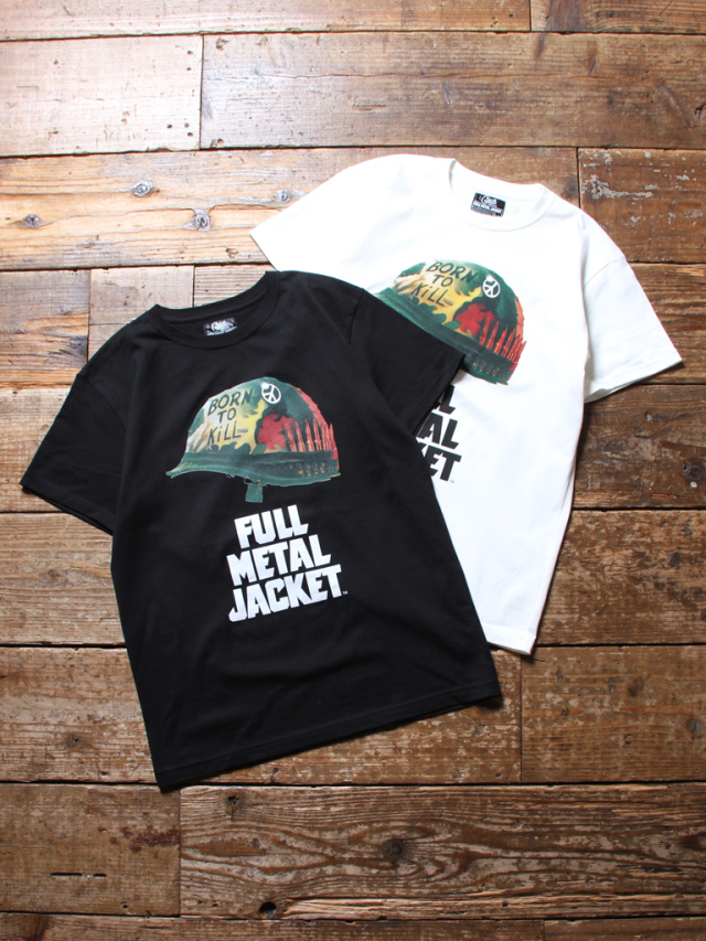 【NEW YEAR ITEM !!】  CALEE × FULLMETAL JACKET  「LOGO S/S T-SHIRT」   プリントティーシャツ