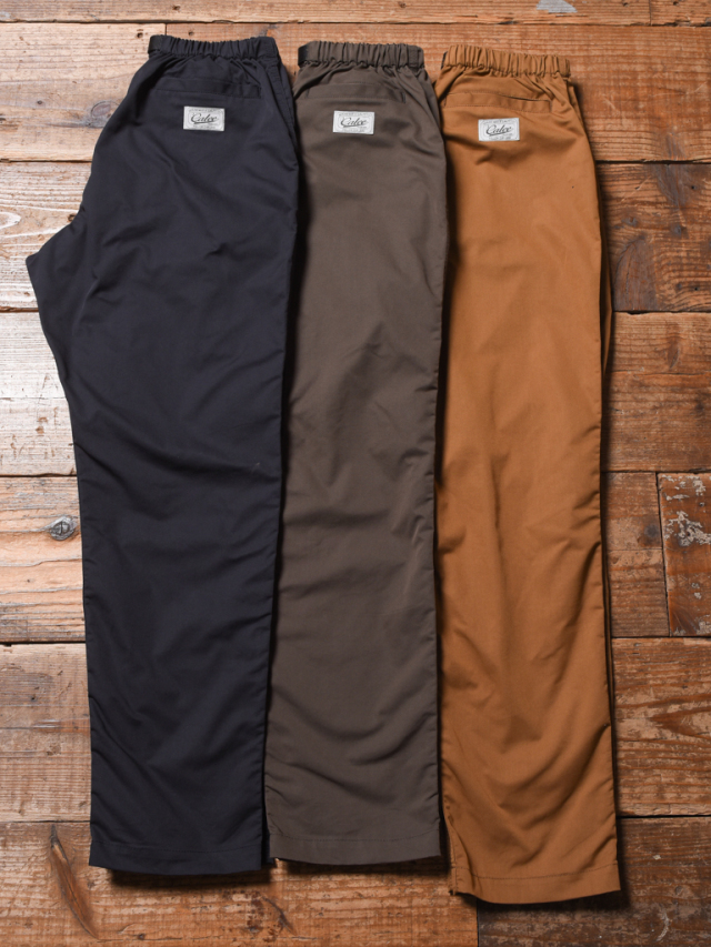 CALEE  「CORDURA EASY PANTS」 イージーパンツ