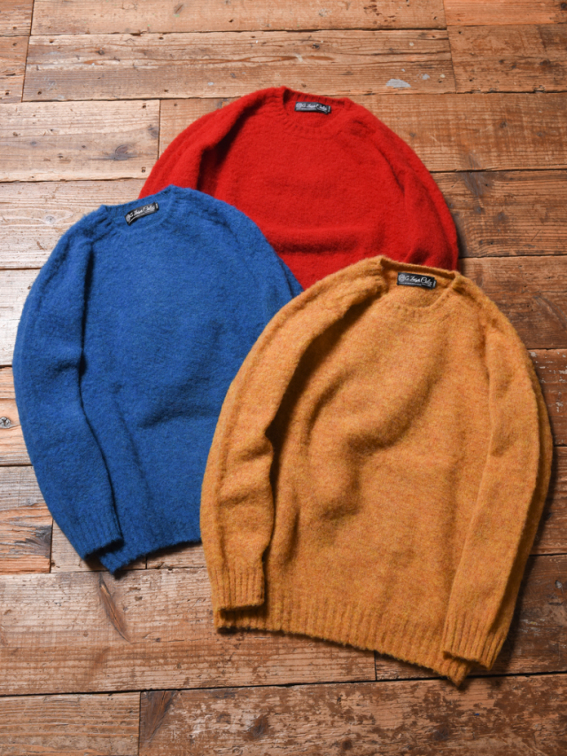 CALEE × Ce Forsyth   「SHAGGY WOOL KNIT SWEATER」 シャギーウールニットセーター