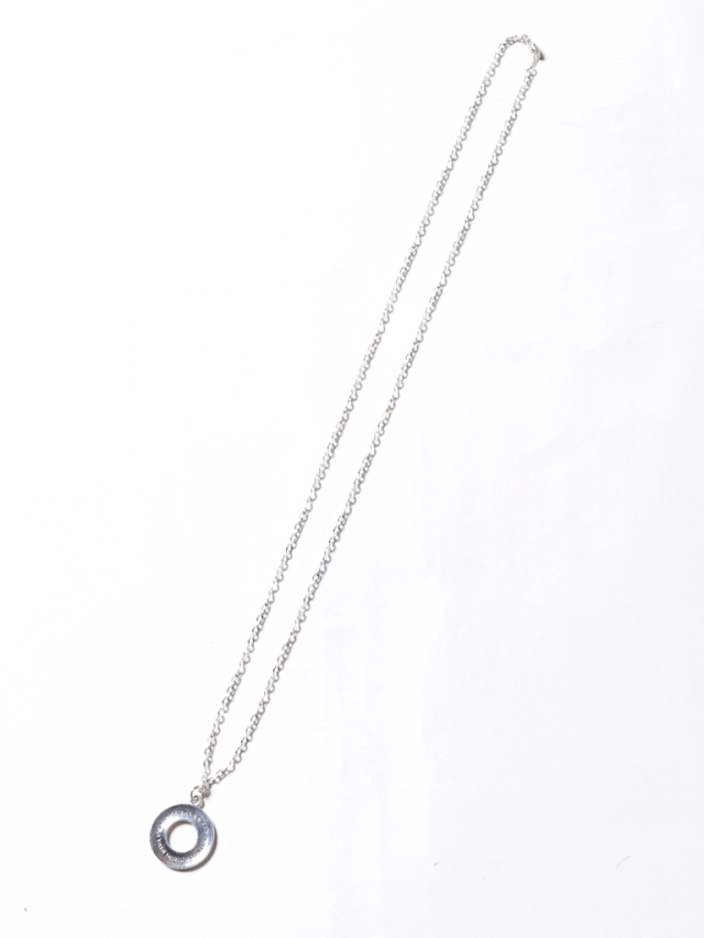 CALEE   「ROUND HEAD NECKLACE」 SILVER925製 ネックレス