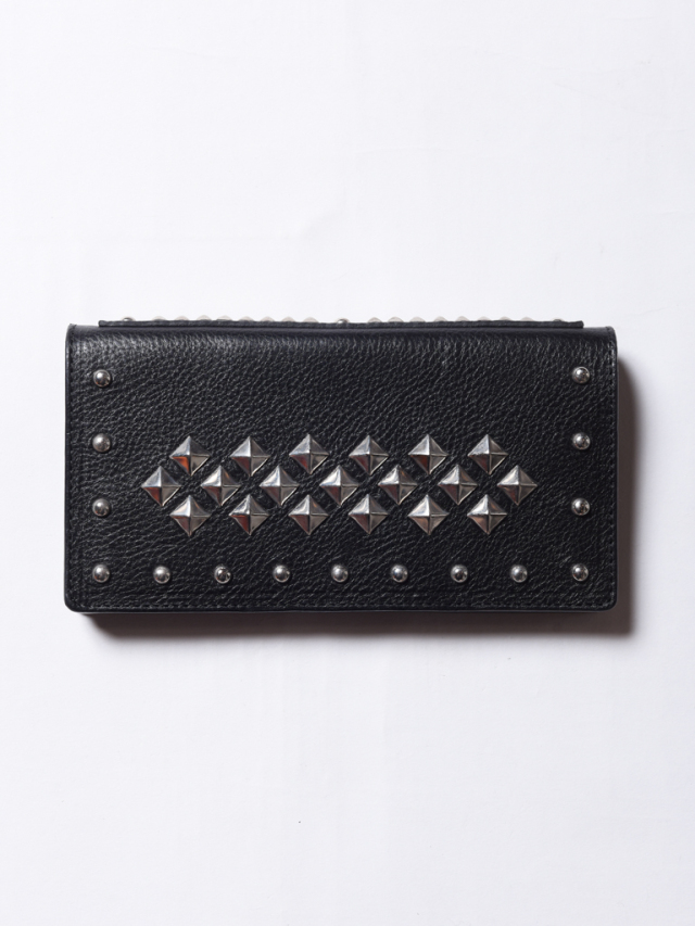 CALEE  「LEATHER STUDS LONG WALLET 」 レザーロングウォレット