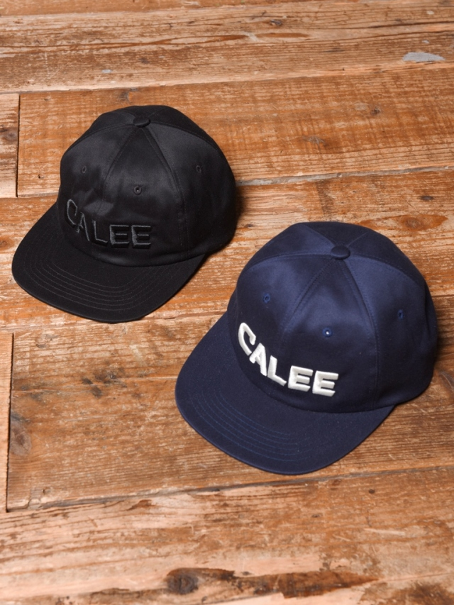CALEE  「TWILL EMBROIDERY CAP」  コットンツイルキャップ