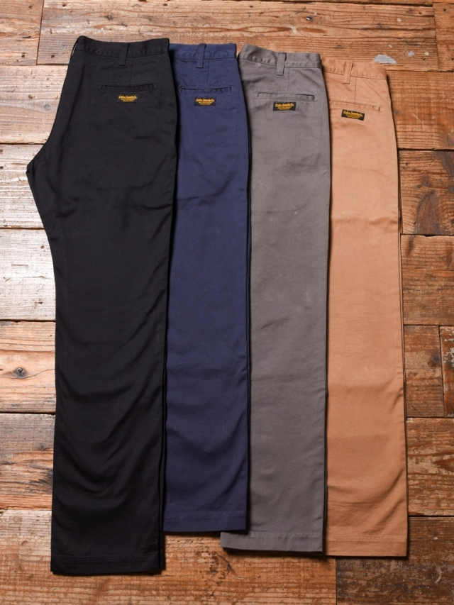 CALEE  「WASHED WEST POINT SLIM CHINO PANTS」 スリムチノパンツ