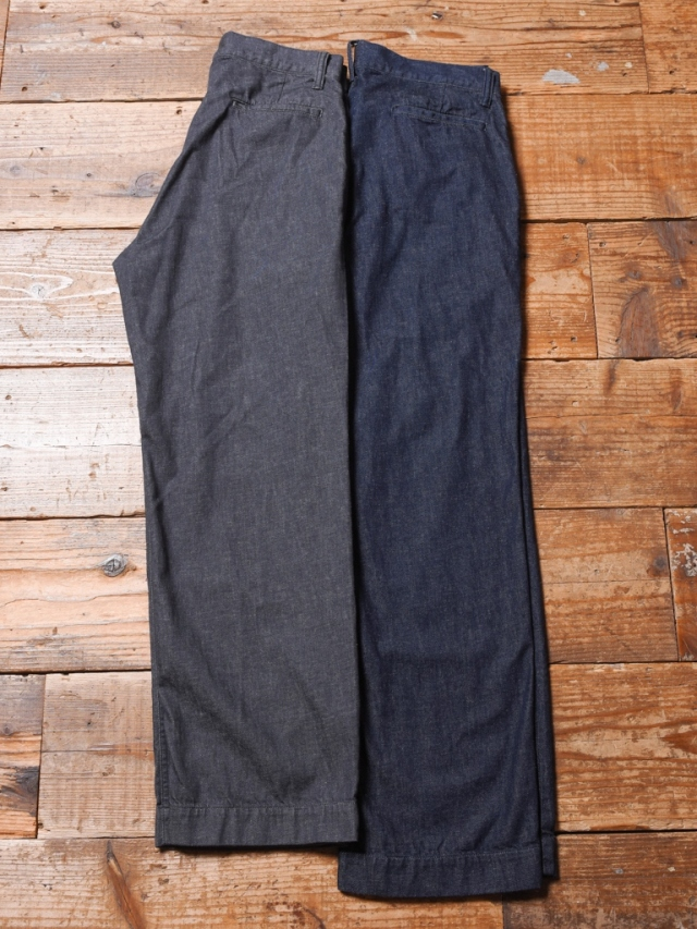 CALEE  「MORE YARN DENIM TROUSER 」  デニムトラウザー