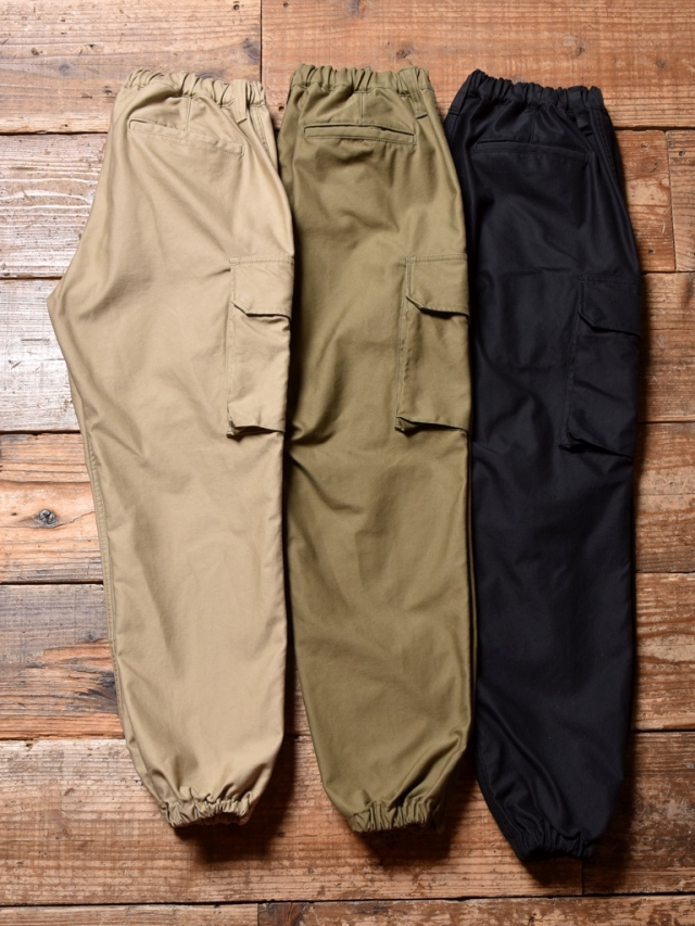 CALEE  「BACK SATIN PARACHUTE PANTS」 パラシュートパンツ