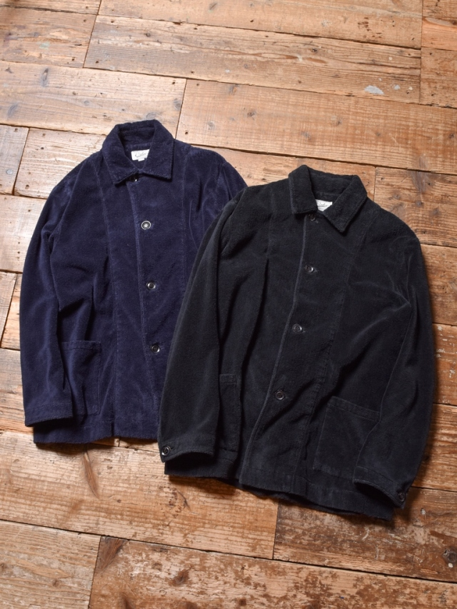CALEE    「SEAL WEAVE COTTON FUR JACKET」 コットンファージャケット