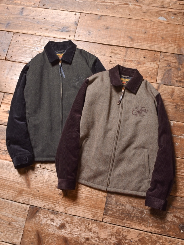 CALEE    「CORDUROY/TWEED SPORTS TYPE JACKET」 スポーツタイプジャケット