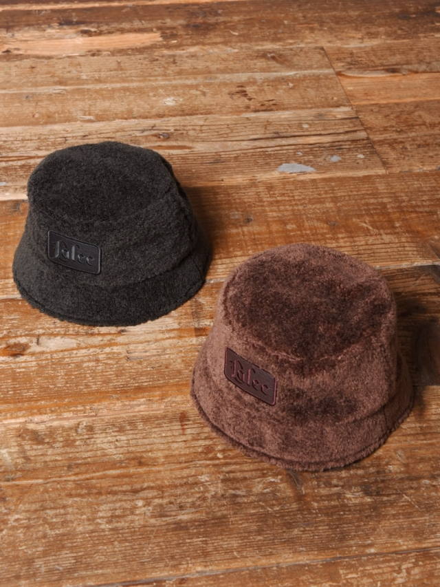 CALEE  「BOA BUCKET HAT」 ボアバケットハット