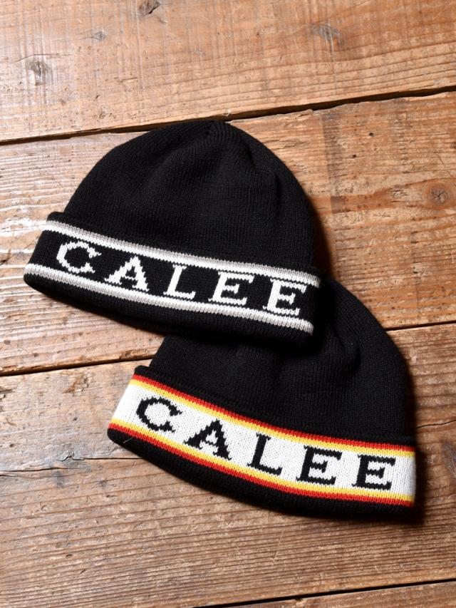 CALEE  「JACQUARD KNIT CAP」  ジャガードニットキャップ