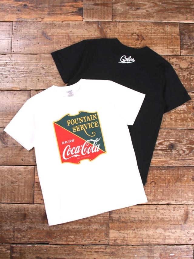 CALEE × COCA-COLA  「EMBLEM  T-SHIRT 」    プリントティーシャツ