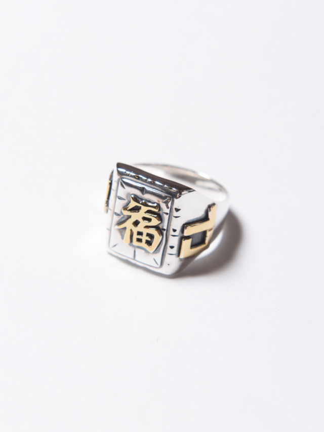 【NEW YEAR ITEM !!】  CALEE   「MEXICAN TASTE JAPANESE FUKU RING」   SILVER 925製メキシカンリング