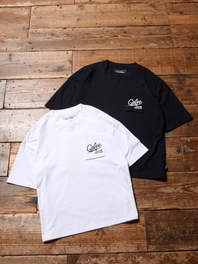 CALEE × SHELTECH 「DROP SHOULDER POCKET T-SHIRT 」    ドロップショルダーティーシャツ