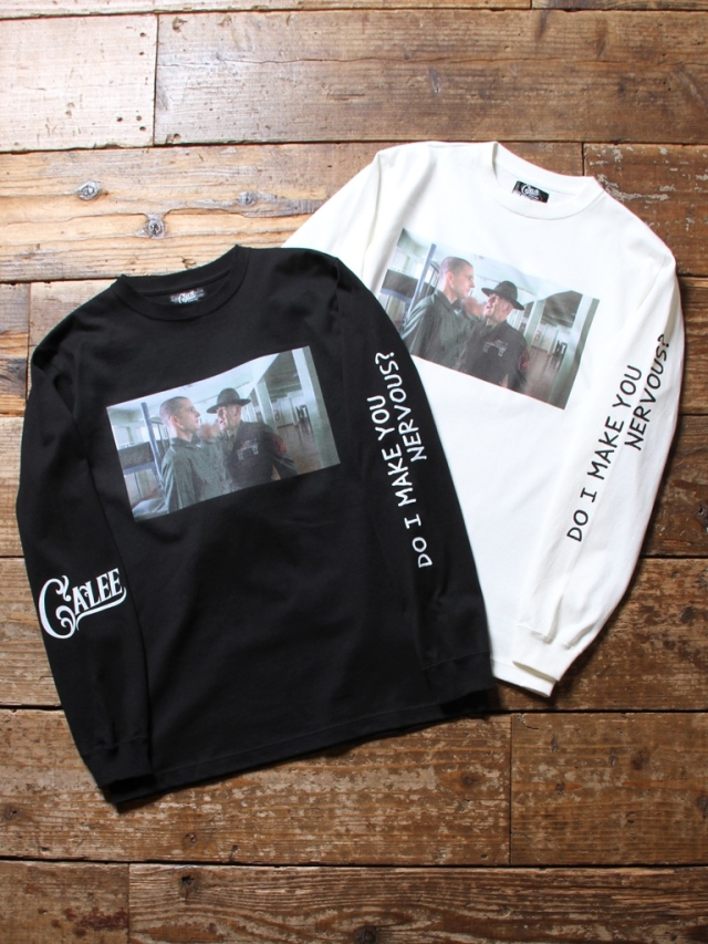 【NEW YEAR ITEM !!】  CALEE × FULLMETAL JACKET  「PHOTO L/S T-SHIRT」   フォトプリントロンティー