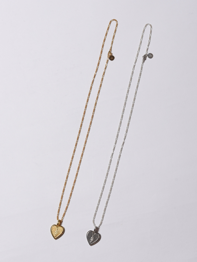 CALEE  「HEAT HEAD NECKLACE 」  SILVER製 ネックレス