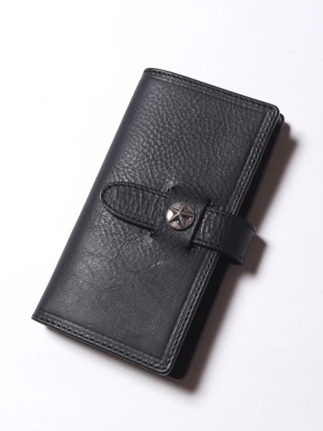 CALEE  「SILVER STAR CONCHO LEATHER SMARTPHONE COVER」 レザースマートフォンカバー