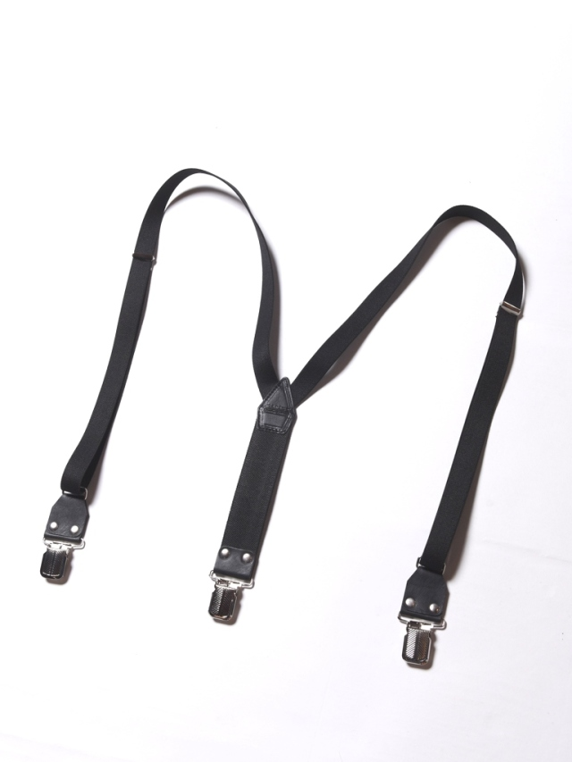 CALEE  「LEATHER SUSPENDER」  サスペンダー