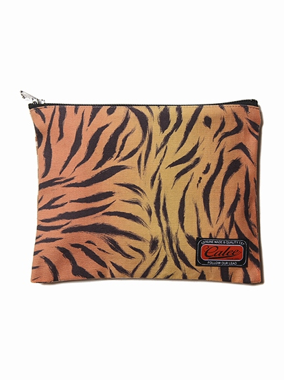 CALEE  「TIGER COMBINATION PATTERN PURSE」  タイガーコンビネーションパターン パース