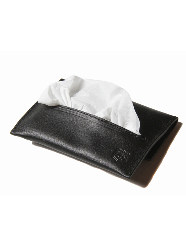 【Limited Item !!】  CALEE  「LEATHER POCKET TISSUE CASE」  レザーポケットティッシュケース