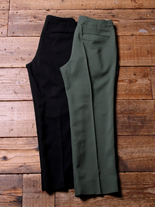 CALEE  「POLYESTER TROPICAL SLACKS 」  トロピカルスラックス