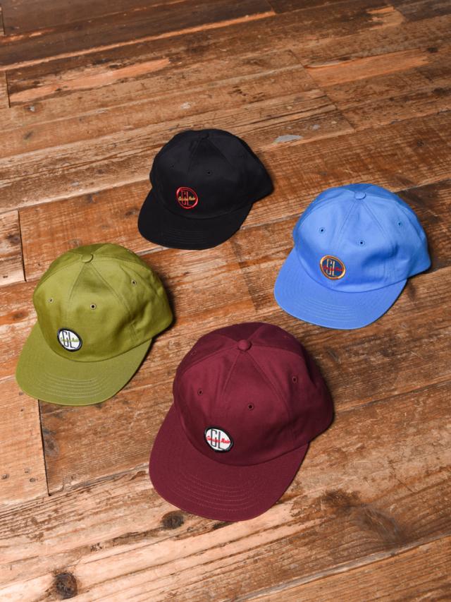 CALEE  「TWILL WAPPEN CAP」  ツイルワッペンキャップ
