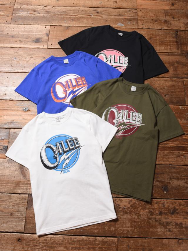 CALEE  「 CALEE LOGO T-SHIRT 」    プリントティーシャツ