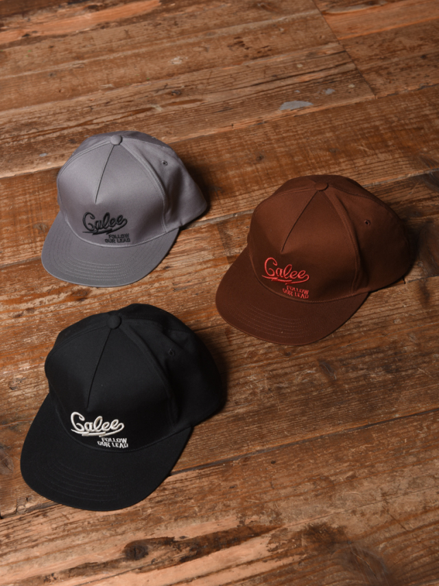 CALEE  「TWILL LOGO EMBROIDERY CAP」  コットンツイルキャップ