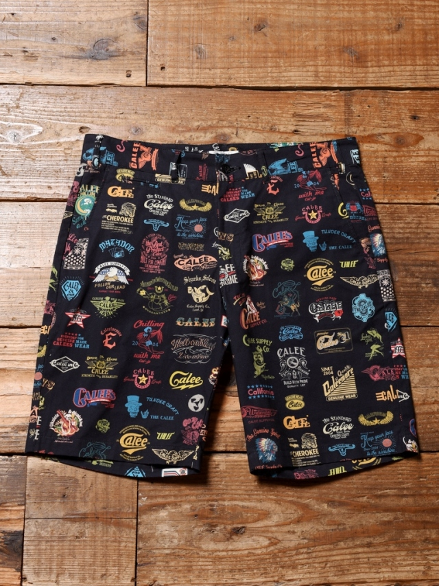 CALEE  「ALLOVER ARCHIVE LOGO PATTERN SHORT PANTS 」    アーカイブロゴショーツ