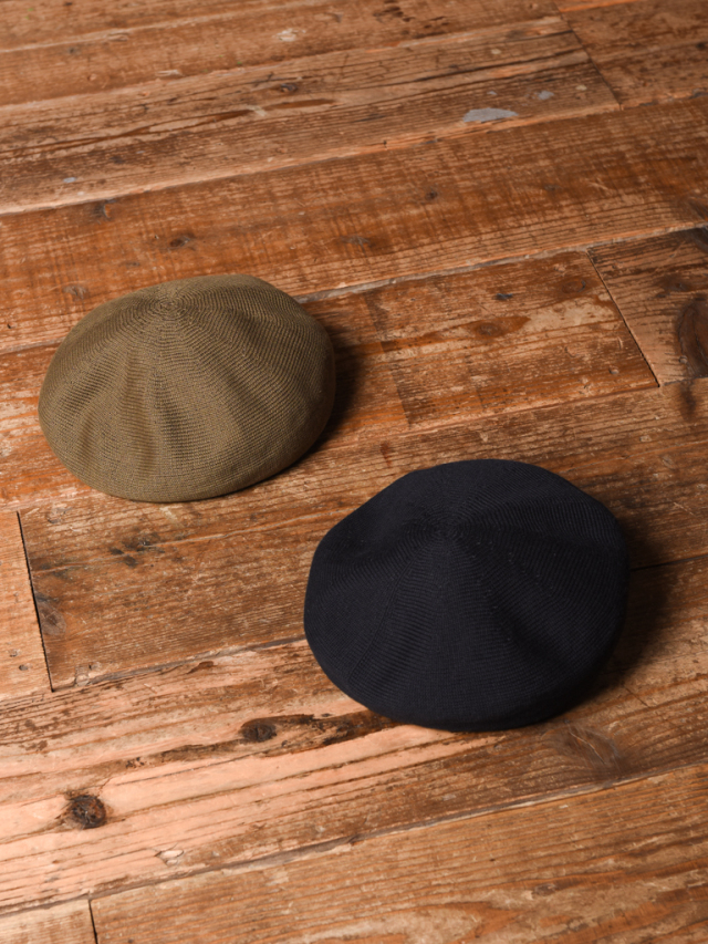 CALEE  「COTTON BERET」 ベレー帽