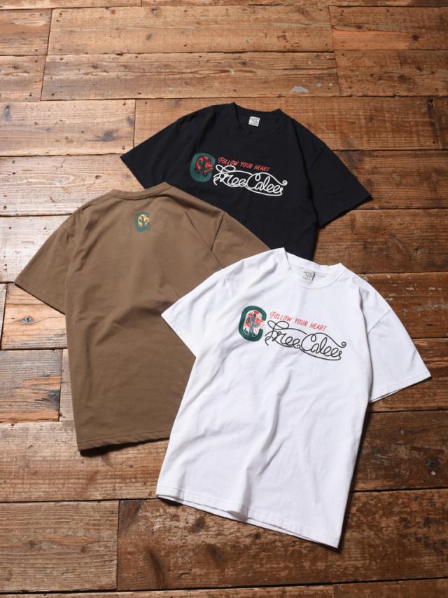 CALEE  「CACTUS T-SHIRT 」    プリントティーシャツ