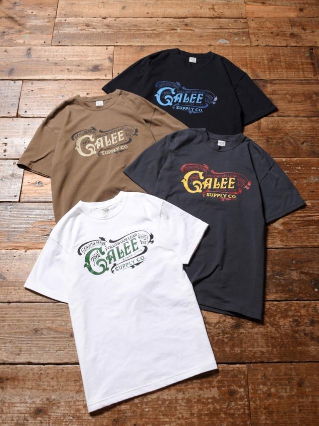 CALEE  「MAIN LOGO T-SHIRT 」    プリントティーシャツ
