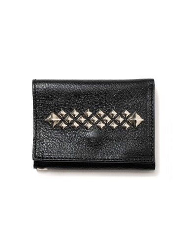 CALEE  「STUDS LEATHER MINI WALLET」 レザーミニウォレット