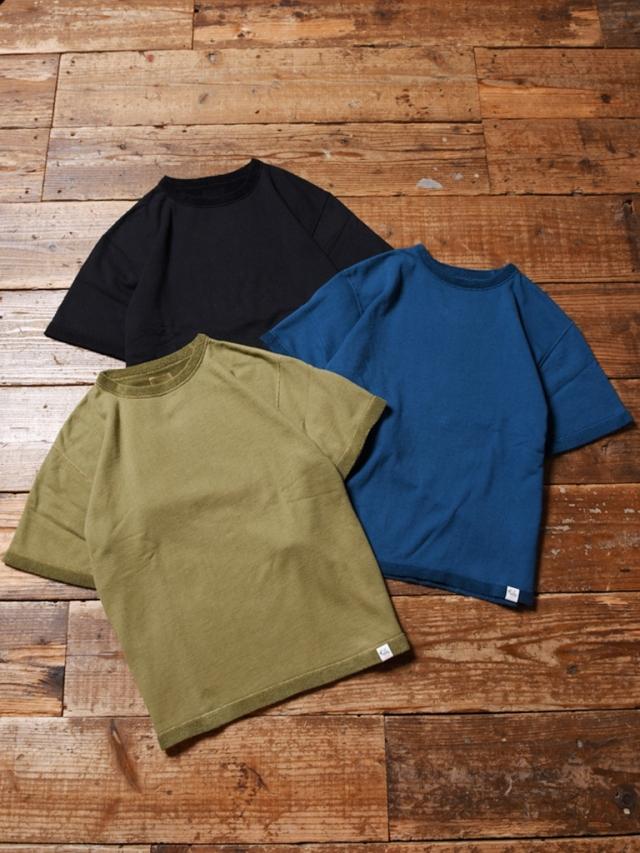 CALEE  「FLAT PILE REVERSIBLE T-SHIRT 」    パイルリバーシブル ティーシャツ