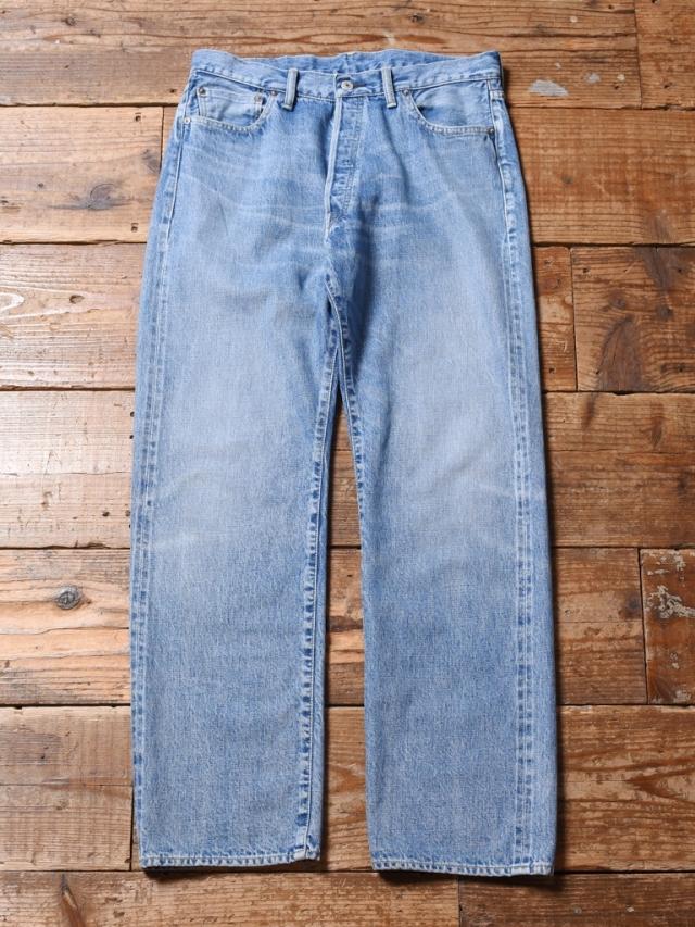 CALEE  「VINTAGE REPRODUCT STRAIGHT USED DENIM PANTS」 501XXタイプ USED加工ストレートデニムパンツ
