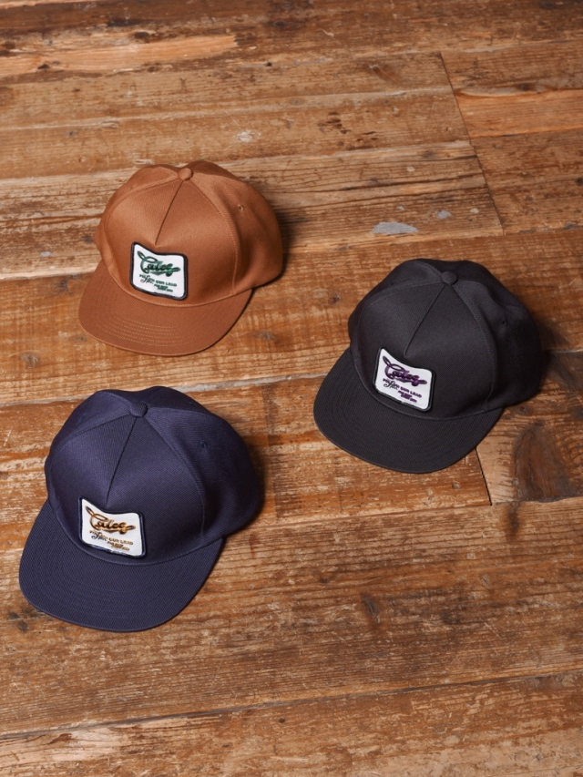 CALEE  「ST-P REPRODUCT WAPPEN CAP」  ワッペンキャップ