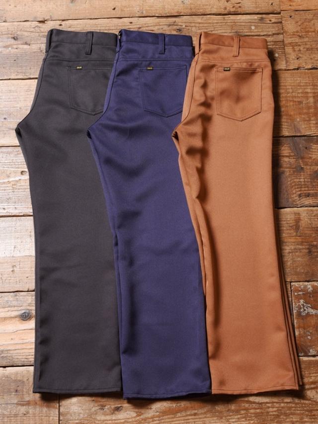 CALEE  「ST-P REPRODUCT 5POCKET FLARE PANTS」 5ポケット フレアパンツ