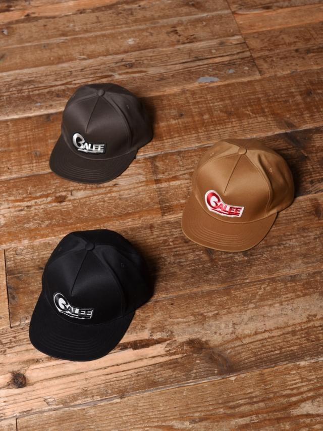 CALEE   「TWILL WAPPEN CAP」  ツイルワッペンキャップ