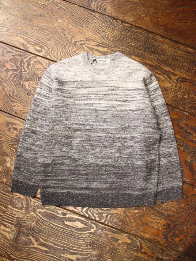COOTIE  「Gradation Crewneck Sweater」  クルーネックセーター