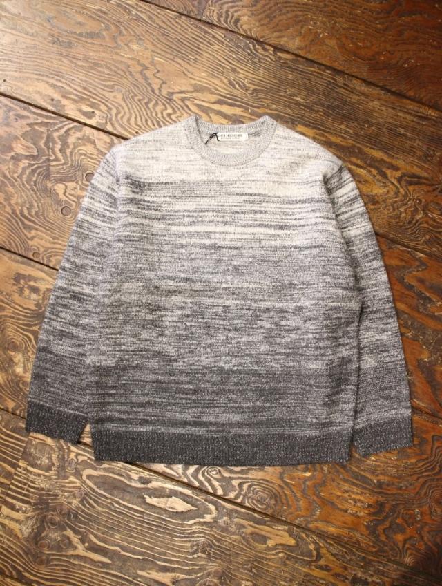 COOTIE  「Gradation Crewneck Sweater」  クルーネックセーター