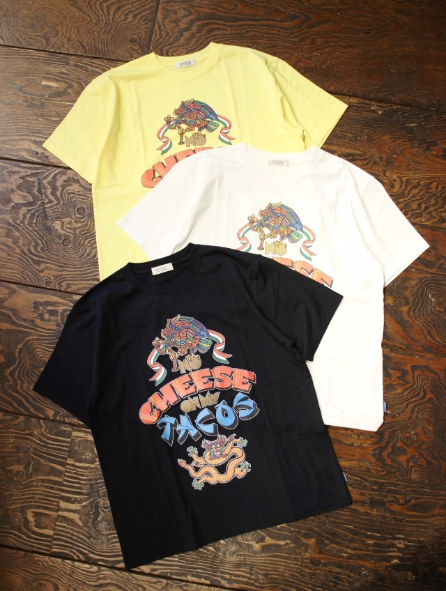 RADIALL    「NO CHEESE - CREW NECK T-SHIRT S/S」 プリントティーシャツ