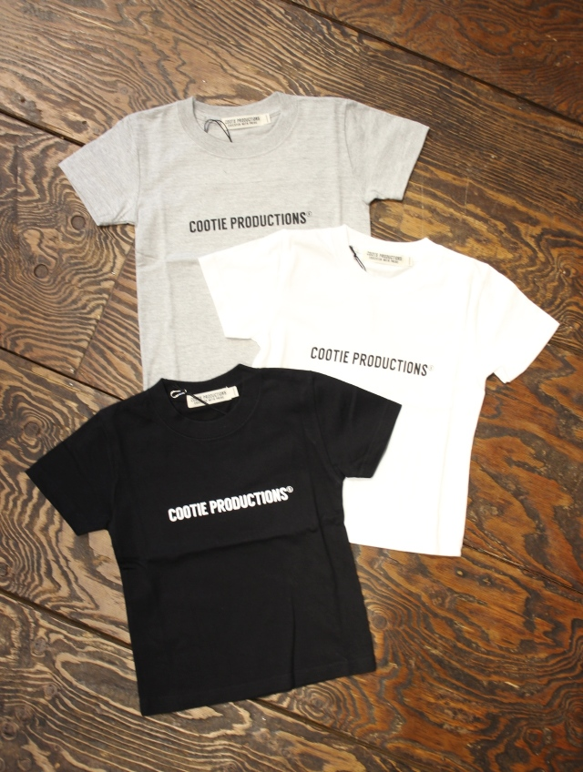 【FOR KIDS】 COOTIE  「Print S/S Tee 」 KID'S ティーシャツ