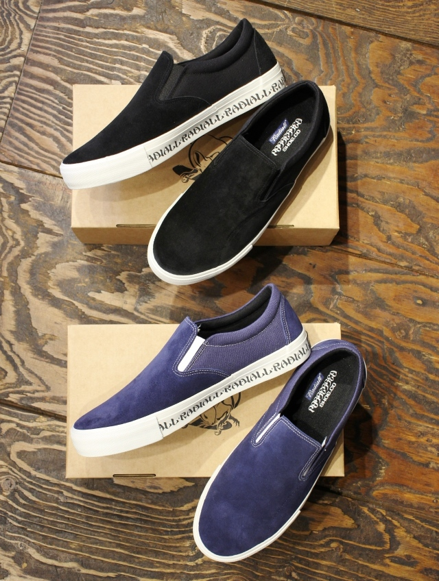 【RESTOCK ITEM !! 】 RADIALL × POSSESSED SHOE.CO  「BASS FOOT - SLIP ON SNEAKER」  スニーカー