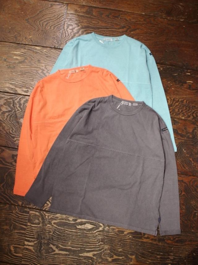 RADIALL  「EL CAMINO - CREW NECK T-SHIRT L/S」  フットボールティーシャツ