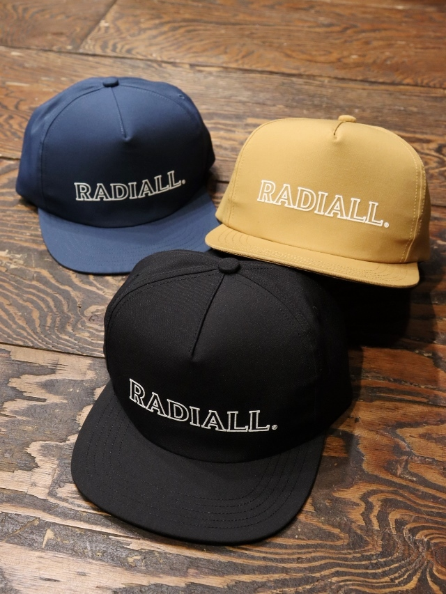 RADIALL  「OUTLINE - TRUCKER CAP」 トラッカーキャップ