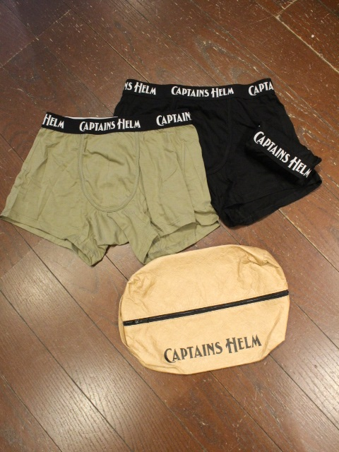 CAPTAINS HELM  「# 3PACK UNDER PANTS」  3枚組アンダーパンツ